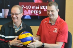 Équipe canadienne de volleyball masculin: l'artillerie lourde sera présente au PEPS