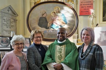 Retour du Saint-Rosaire à l'église Saint-Félix