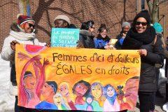 Journée internationale du droit des femmes: Violence et pauvreté toujours dénoncées
