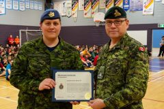JEUX DES CADETS: Mention honorable au capitaine Caroline Blouin