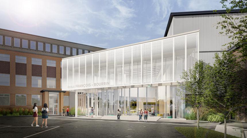 École secondaire privée François-Bourrin: un projet à deux volets fort attendu