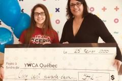 Don au YWCA Québec