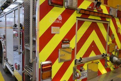 Deux incendies coup sur coup la nuit dernière à Québec