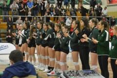 Volleyball collégial féminin: les Élans s'inclinent en finale dans un duel au sommet