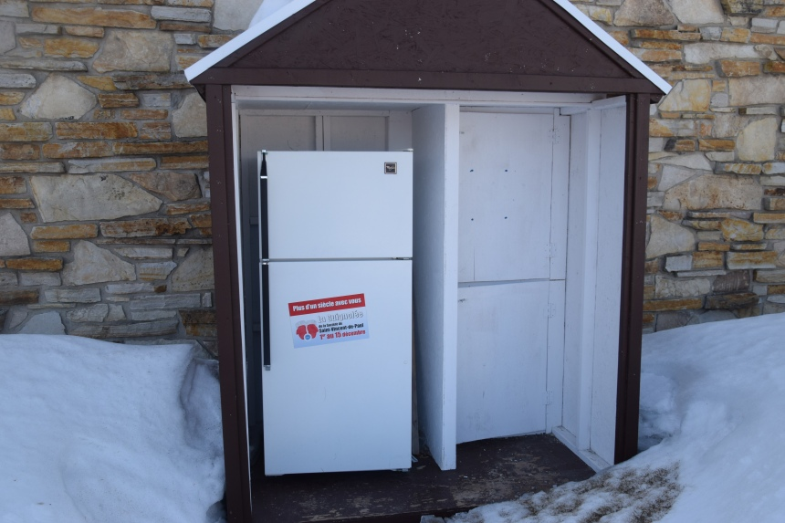 Des frigos-partage réconfortants en cette période difficile