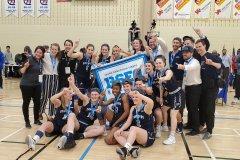 Basketball collégial féminin division un: les Dynamiques de Sainte-Foy sont championnes provinciales
