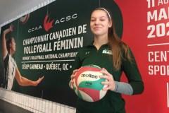Le Championnat canadien de volleyball féminin se déroule à huit clos