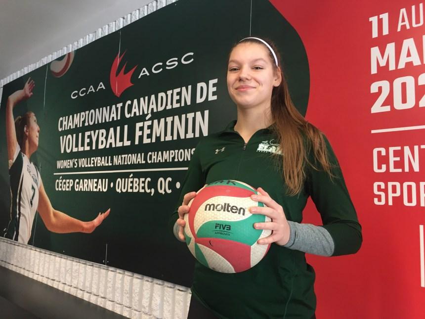 Championnat canadien au Cégep Garneau: la crème de la crème du volleyball collégial féminin