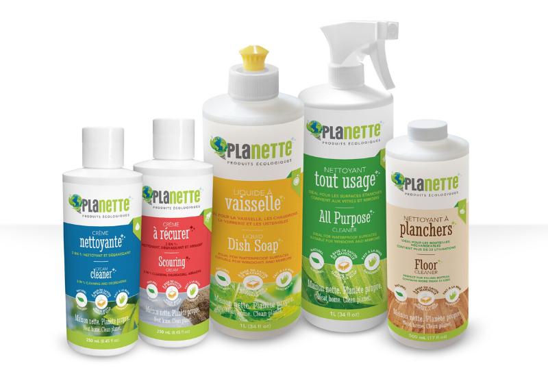 Produits écologiques d'ici pour l'hygiène à la maison