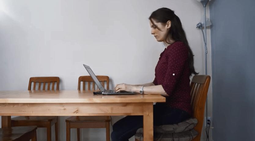 Télétravail: un bureau ergonomique chez soi