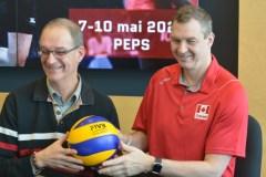 L'équipe nationale de volleyball renonce à son séjour à Québec