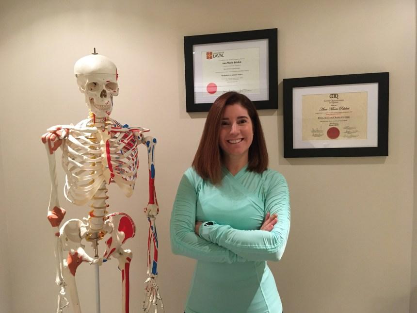 Ann-Marie Pelchat: Des jeux olympiques au métier d'ostéopathe