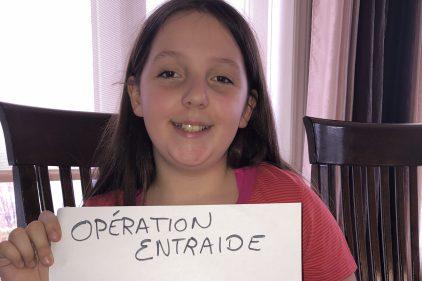 Une jeune fille de 11 ans donne de l'espoir à Beauport