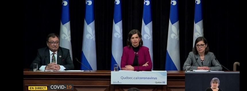Objectif: relancer le Québec sans relancer la pandémie