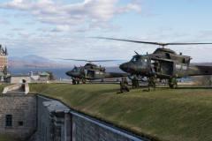Des hélicoptères survoleront la Citadelle de Québec