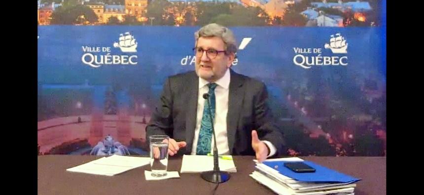 Le maire Labeaume annonce de l'aide aux petites entreprises