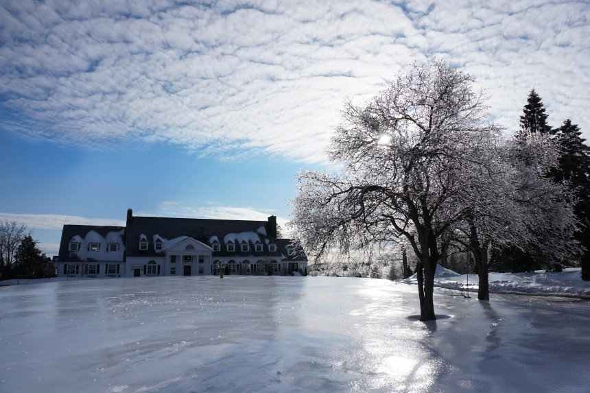 Journée givrée immortalise l'hiver à Boischatel