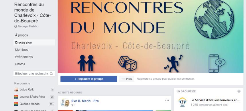 Nouveaux arrivants: Un groupe Facebook ludique pour rassembler