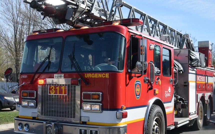Incendie dans une résidence de Sainte-Foy