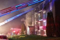 Immeuble de 24 logements évacué à Loretteville