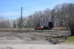 Parc-O-Bus Bastien: Nivelage de terrains complété