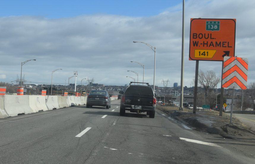 Les travaux reprennent sur l'autoroute Henri-IV