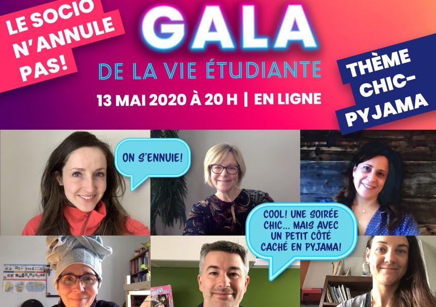 Le Gala Socio 2020 célèbre l'engagement parascolaire