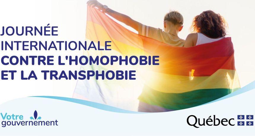 Journée internationale contre l'homophobie soulignée à Québec et à Ottawa