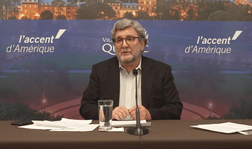 Suspect arrêté pour harcèlement criminel envers Régis Labeaume