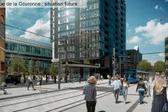 L'aménagement des pôles d'échanges du tramway se confirme