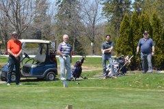 Golf Le Montmorency: des golfeurs heureux malgré la distanciation sociale
