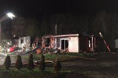 Incendie à Saint-Émile: l'avertisseur de fumée sauve la famille