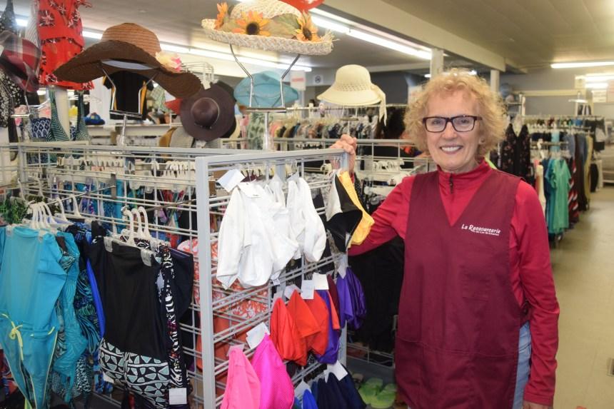 Marché aux puces et ressourcerie: Une façon de donner au suivant pour Diane Laberge