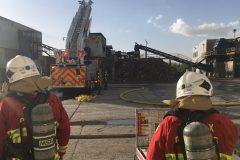 Un incendie éclate dans un convoyeur chez AIM