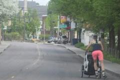 La rue n'est pas une piste récréative