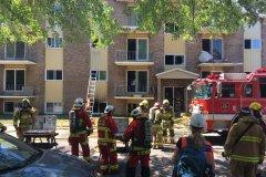 Un bloc de huit logements évacué dans le quartier Vanier