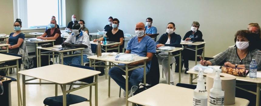 Plus de 500 nouveaux préposés diplômés de Fierbourg