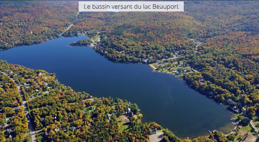 Le lac Beauport étouffe