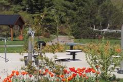 Sainte-Catherine-de-la-Jacques-Cartier: Ouverture des jeux d'eau