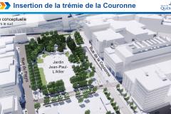 Réseau structurant: Québec précise l'insertion souterraine du tramway