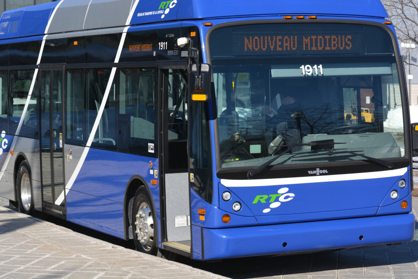 Rapport du vérificateur général 2019: manque de rigueur par le RTC avec les midibus