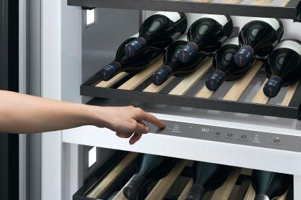Nouveau cellier à vin encastré de Fisher & Paykel