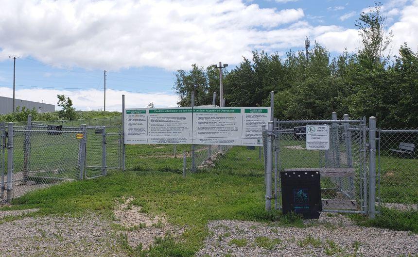 Parc canin rouvert à Saint-Augustin
