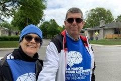Une marche « maison » réussie pour la Société Alzheimer de Québec