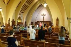 Les messes affichent complet à Saint-Thomas-d'Aquin