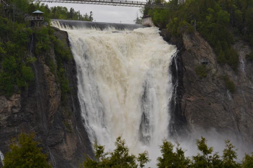 La chute Montmorency accessible à partir du 20 juin