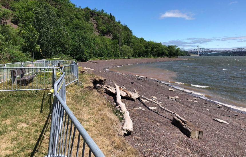Le BAPE se penche sur la stabilisation de la plage Jacques-Cartier