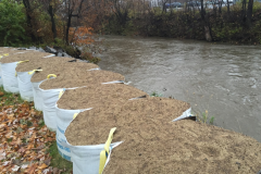 Pression pour résoudre les crues de la rivière Lorette
