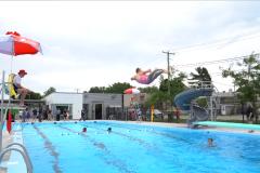 Une piscine extérieure en plus de 50 ans à Vanier