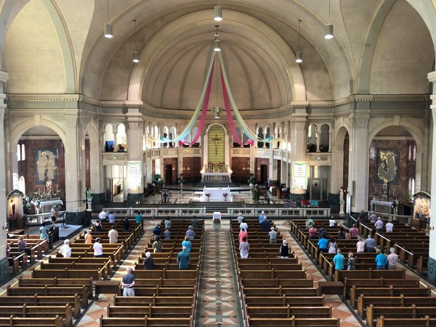 Le retour des rassemblements religieux à Beauport